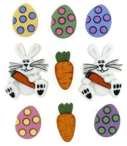 Dress It Up Buttons - Easter Egg Hunt