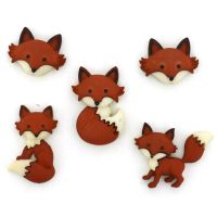 Dress It Up Buttons - Out Foxed