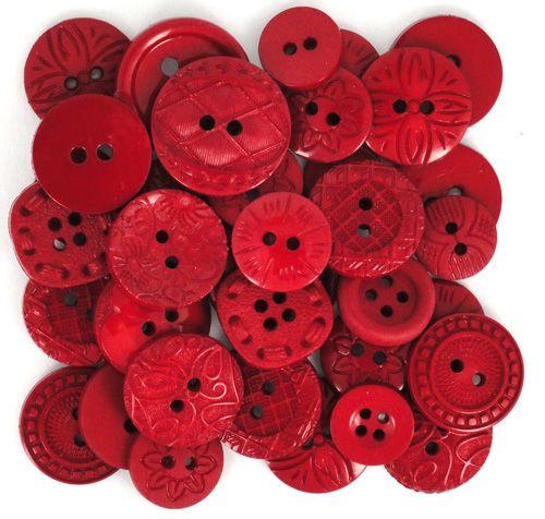 Dress It Up -  Embellishments - Colour Me - Red