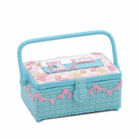 Small Sewing Box: Appliqué Caravan