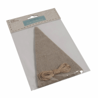 Make-Your-Own Bunting Kit: Linen: Natural