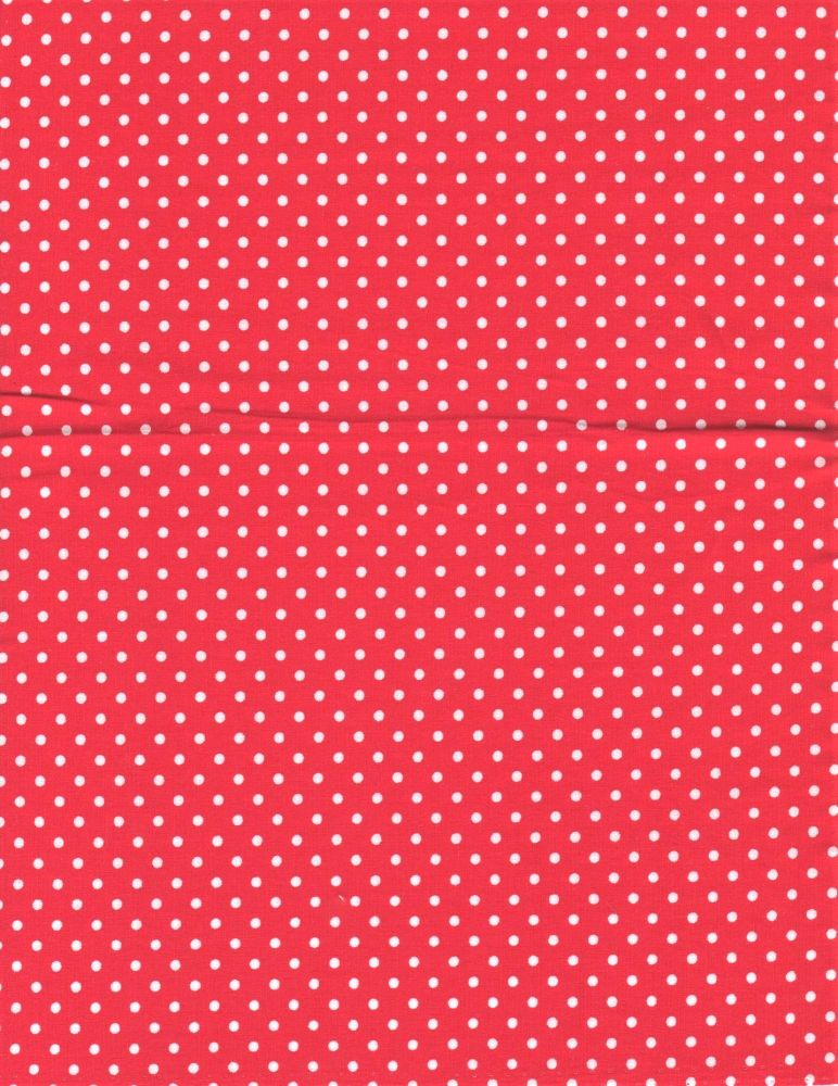 100% Cotton Poplin,Fabric, Bright red