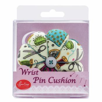 Pincushion: Wrist Strap: Notions Fabric