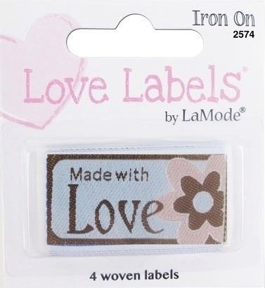 Love Labels by La Mode. Made with Love