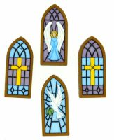 Dress It Up -  Embellishments - Stained Glass