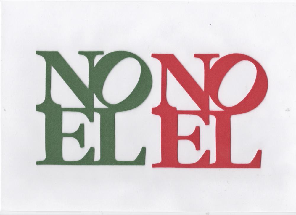 Christmas Felt Letters