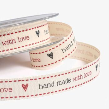 Handmade With Love.15 mm x 1.5 metres
