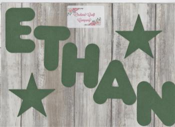 Felt Letters or Numbers  x 7 (7cm) Quality Felt, Marshmallow Font