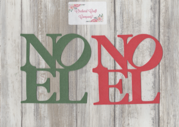 """NOEL"" Self Adhesive Felt x 2"