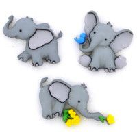 Dress It Up Buttons -Tiny Trunks