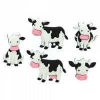 Dress It Up - Craft Buttons - Mooove It!