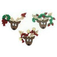 Dress It Up Buttons - Oh Deer