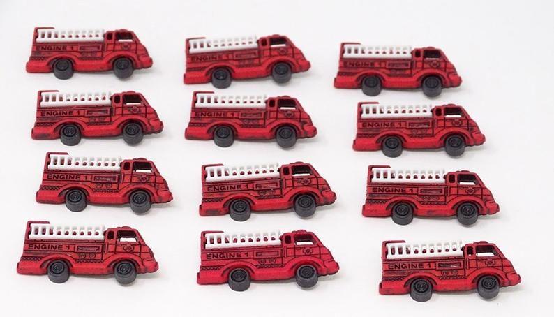 Dress It Up - Embellishments - Fire Engines