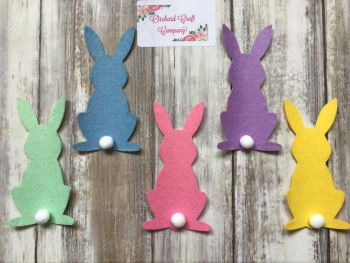Felt Bunnies x 5