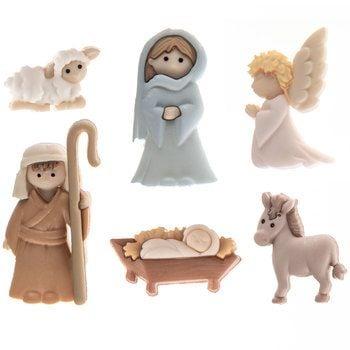 Dress It Up -  Embellishments - Noah's Ark Buttons