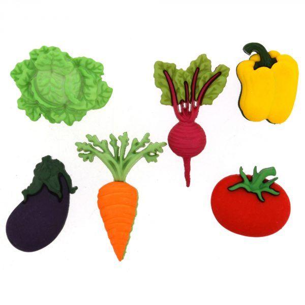 Dress It Up - Craft Buttons - Fresh Produce