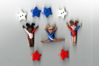 Dress It Up Buttons - Tiny Tumblers