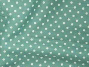 Sage Green 100% Cotton fabric, 3 mm polka dot