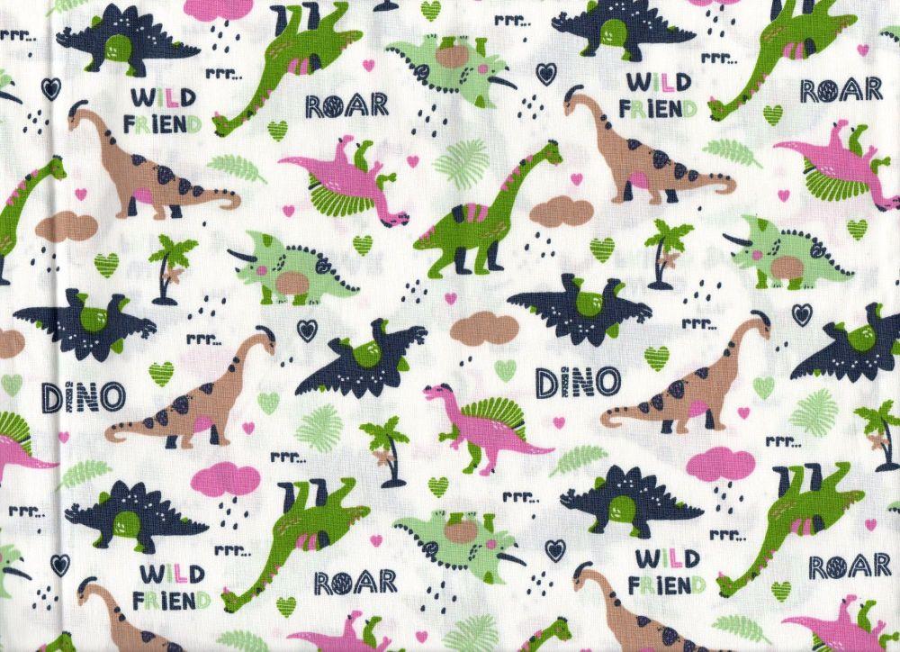 Dinosaur fabric