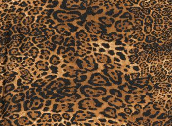 Bet Lynch Leopard Print,100% Cotton Poplin