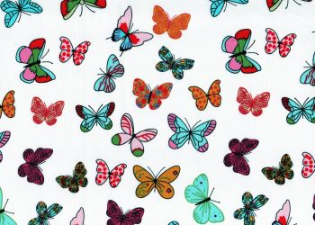 Butterfly fabric, 100% Cotton