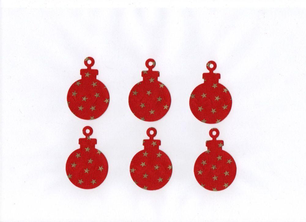 Iron On Fabric Christmas Shapes