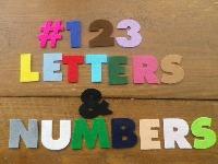 <!-- 003 --> Felt Letters/Numbers