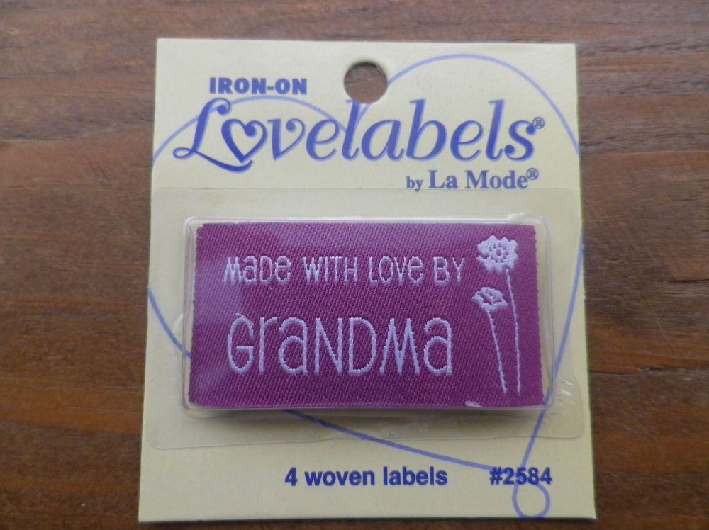 Love Labels by La Mode