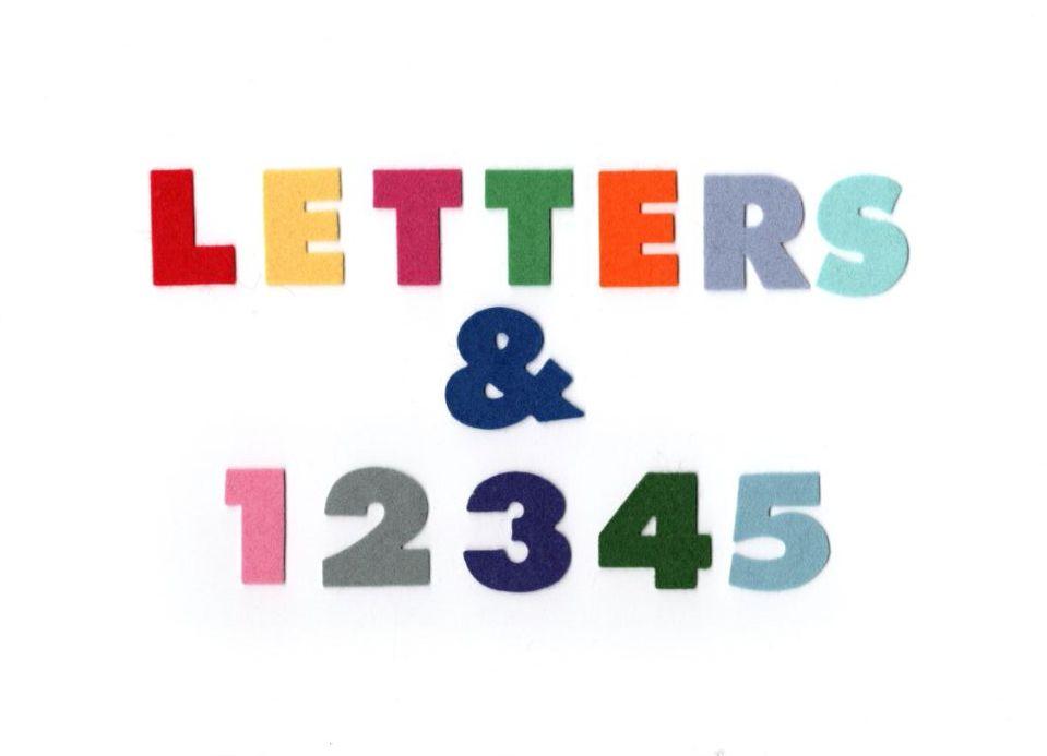 <!-- 002 --> Felt Letters/Numbers