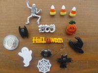 SPOOK - TACULAR, Halloween Craft Buttons