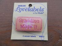 Love Labels,  Grandma Made It