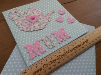 Handmade Teapot card