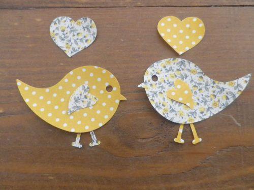 Iron On Love Birds