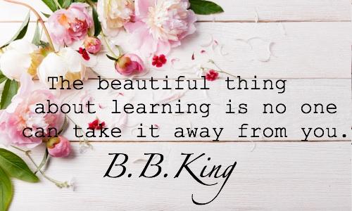 beautiful learning