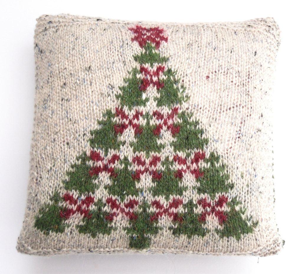 Fair Isle Christmas Tree Charts knitting pattern