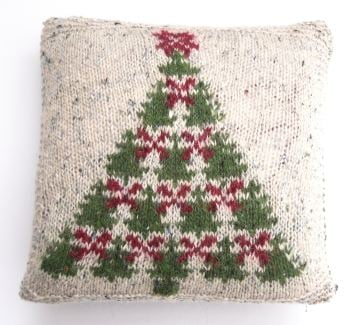 Fair Isle Christmas Tree Charts knitting pattern