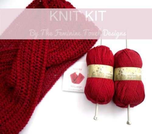 Beginners Lace Knitting Kit