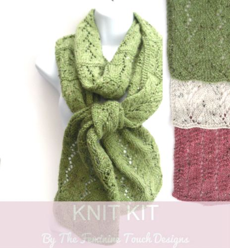 65c13e28c6748 Lace Scarf kit