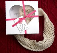 Lace Cowls knitting kit