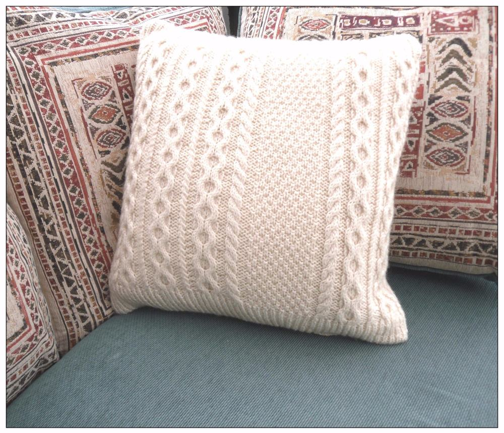 Recycled Wool Cushion / Pillow Throw