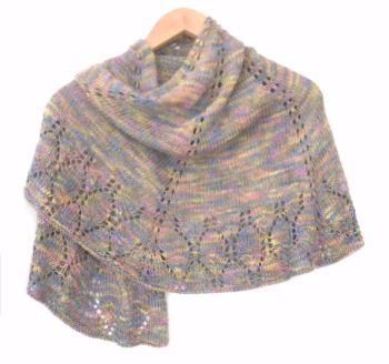 Luxury Lace Semi Circular Shawl