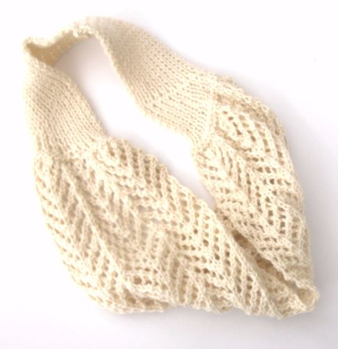 Pretty Wool Lace Cowl