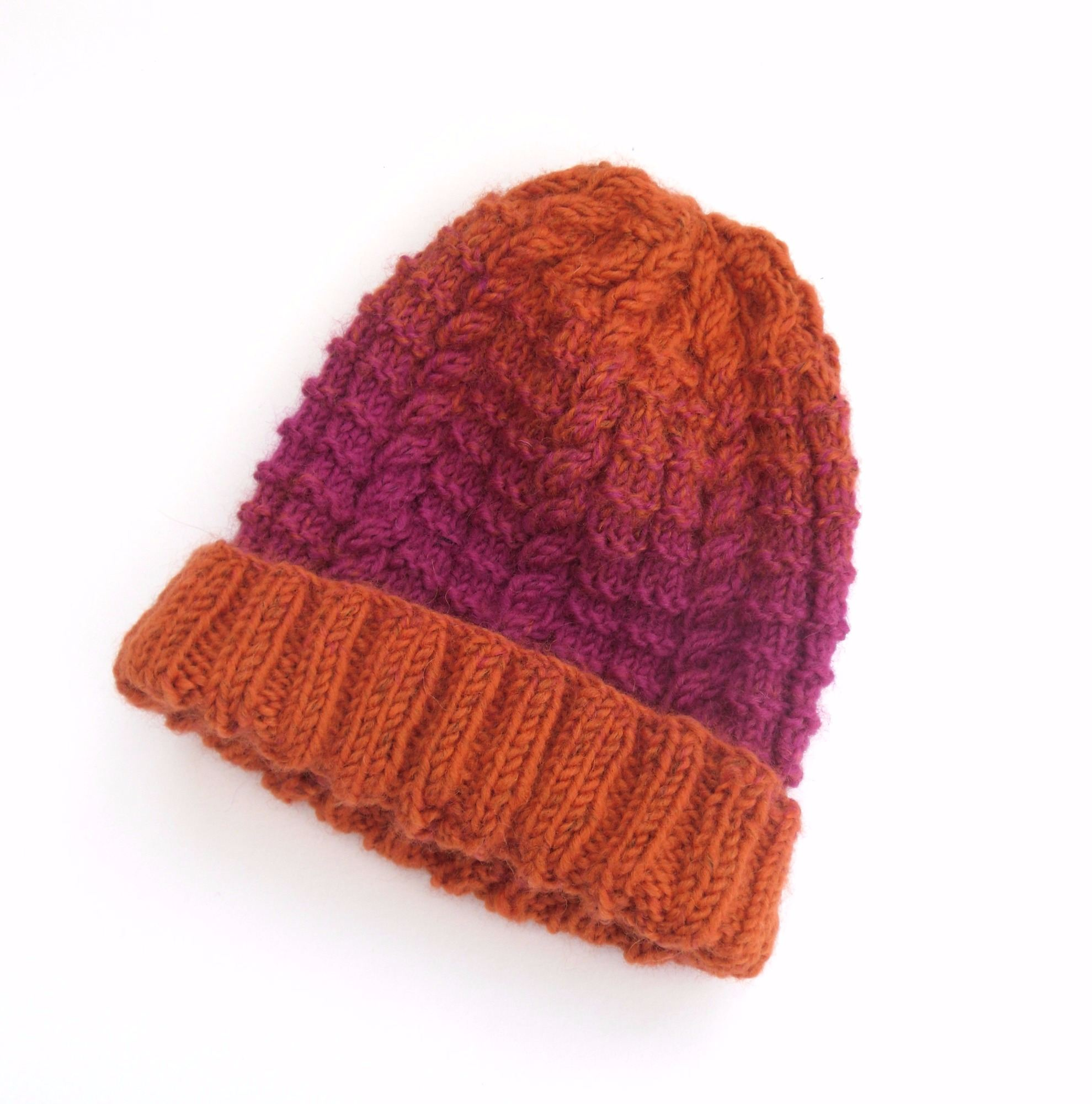beanie knitting kit