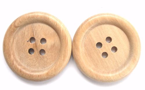 Extra Large wood buttons