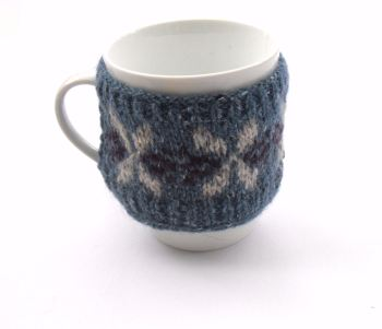Small Blue mug hug