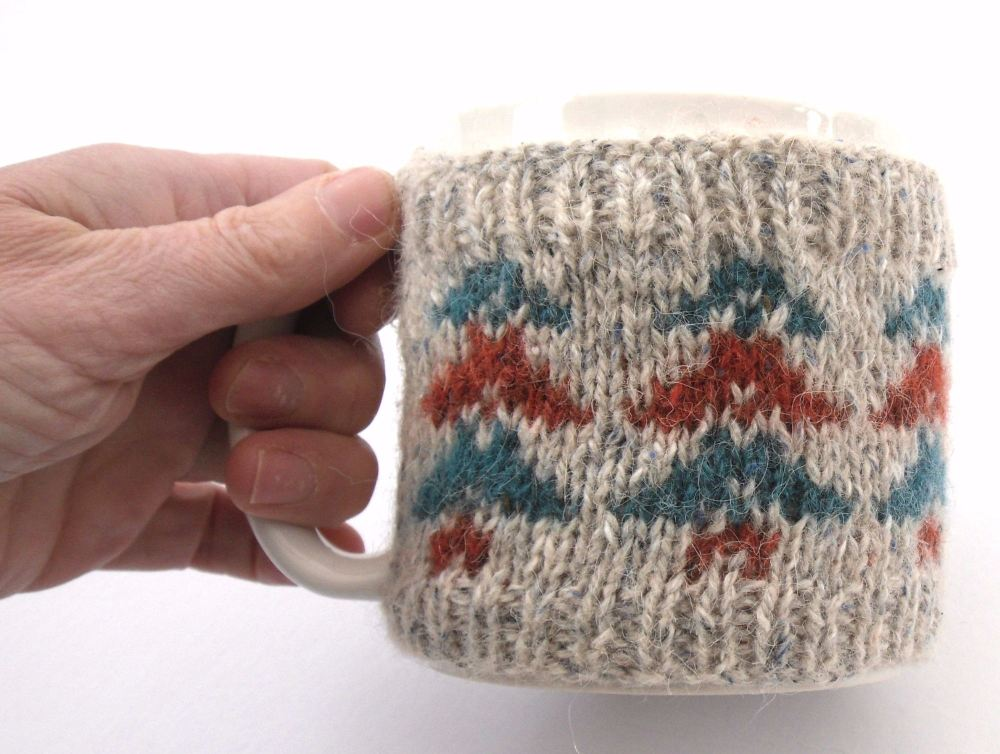 Autumn trees mug warmer