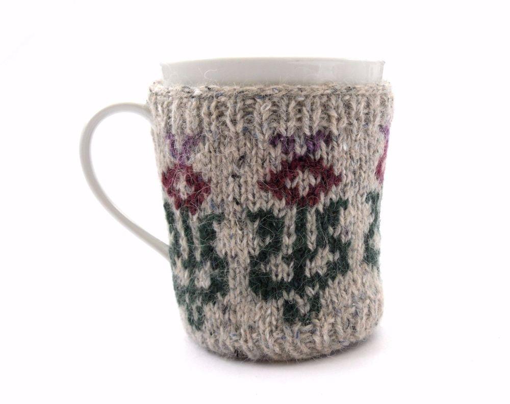 Scottish Thistle mug hug
