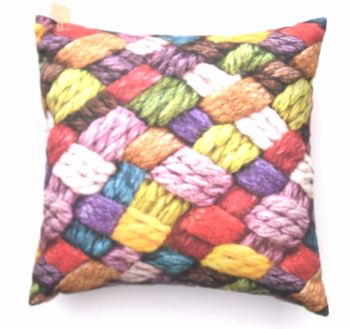 Knitters Cushion