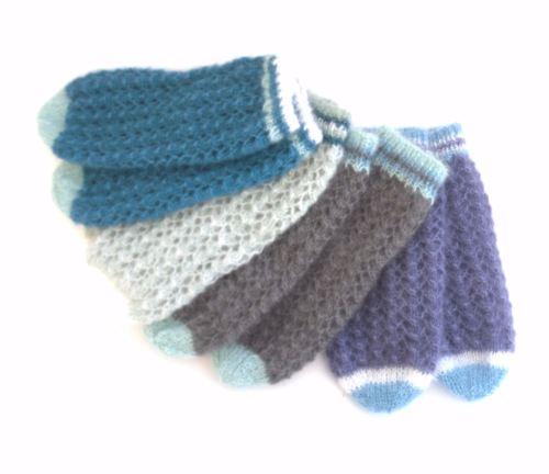 Custom Made  silk mohair bed socks