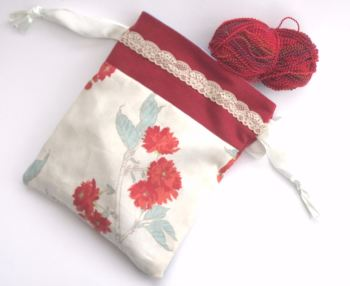 Fabric Gift Bag /Project Bag